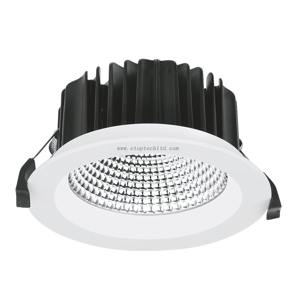 Dimmable Reflector-Fixed Round LED Downlight 1480LM 13W 220-240V
