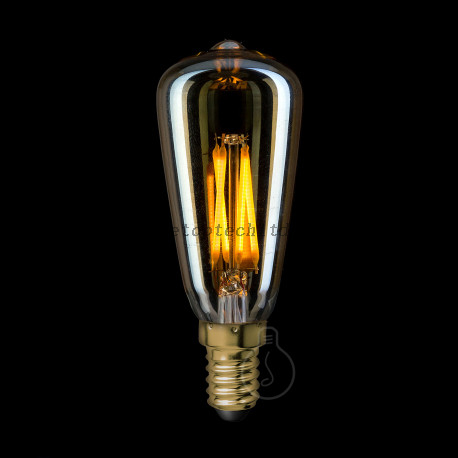 LED Filament Bulb Lights Vintage Amber Bulb E14 3W Warm White