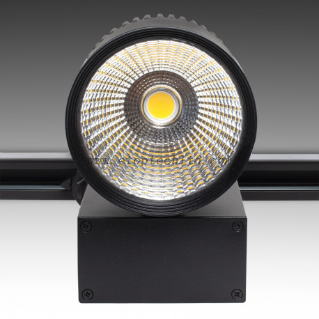 Three Phase LED Tracklights LED Track Light Black 20W