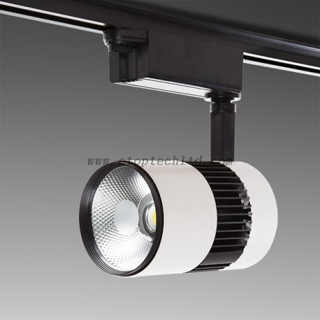 LED Track Light Lineal Single Phase 20W 2000Lm