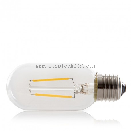 LED Filament Bulb Lights Vintage T45 E27 2W