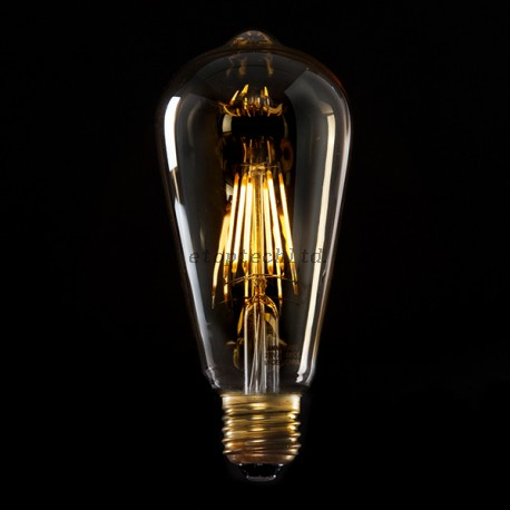LED Filament Bulb Lights Vintage Edison Bulb ST64 E27 4W