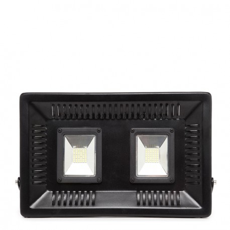 LED Floodlight IP65 Superslim 100W 9000Lm 2 Lights