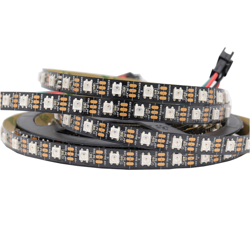 RGBW 4 in 1 WS2812B 5050 IC Digital 60leds/M LED Flexible Strips