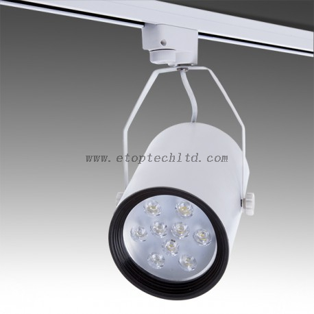 LED Track Light Lineal Single Phase 9W 900Lm