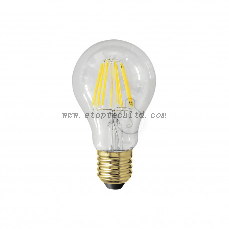LED Filament Bulb Lights Transparent E27 3W