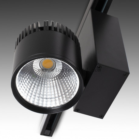 Three Phase LED Tracklights LED Track Light Black 45W