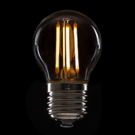 LED Filament Bulb Lights Vintage G45 E27 4W