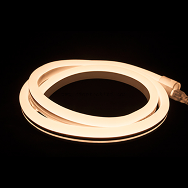 Flexible LED Neon Rope Light Warm White