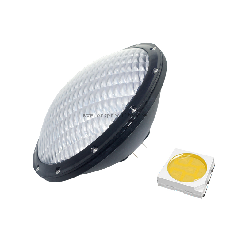 GX16D Warm White 3000K AC 100-240V IP68 21W Aluminum Material PAR56 Light LED Swimming Pool Light