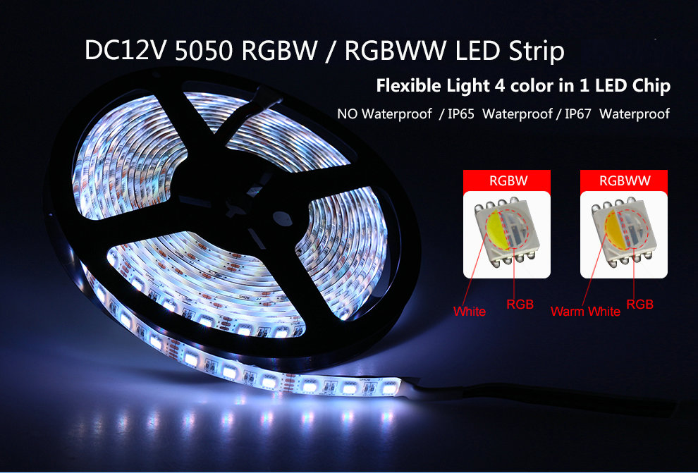 LED Lights Strip 5050 RGBW DC12V Flexible Lighting Rope.docx