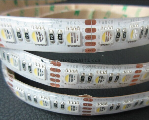 RGBW 4 in 1 Flexible Strips RGBW LED Strip 5050 60leds/m 5m/roll LED Flexible Rope